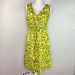 Boden Tropical Flora Fauna Print Everyday Dress